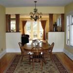 Custom dining room remodel